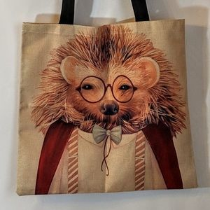 Bags - Hedgehog Shopping Tote Market Bag NWOT
